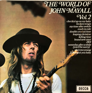 John Mayall ‎- The World Of John Mayall Vol. 2 (LP) (EX-/G++)